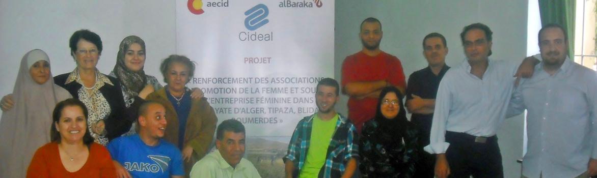 """Curso """"Emprendedoras en Desarrollo Sostenible"""". AECID-CIDEAL+Luis Barrios (Alternatura)"""